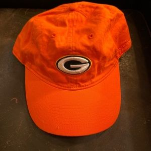Like new bright orange Green Bay packer hat